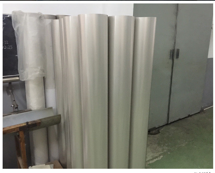 Hight Strenght Long Life Rotary Printing Screen Nickel Tube For Textile Machinery
