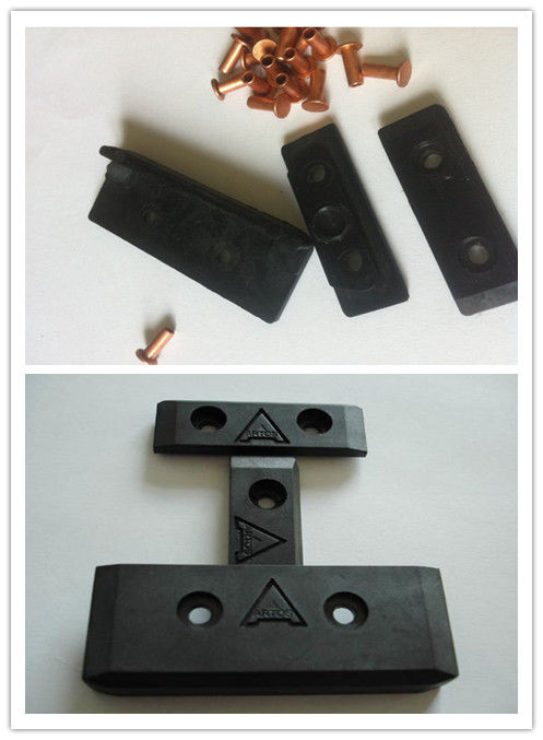 Black Mercerizing Carbon Fiber Slider Stenter Machine Sliding Block