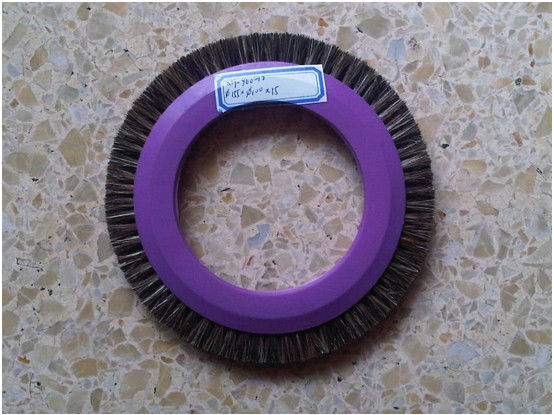 PP Durable Stenter Cleaning Brush Bristle Hair Easy Installation For Textile