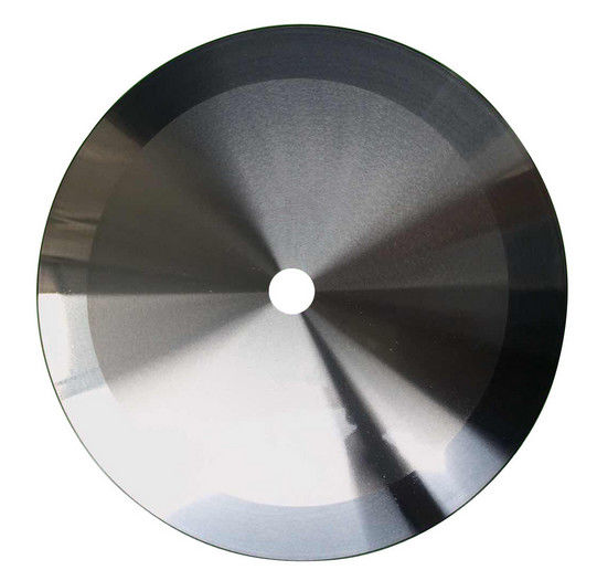 Solid Tungsten Textile Cutting Blades Circular Shape High Wear Resistance