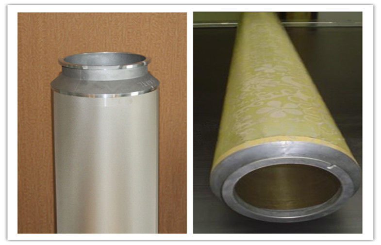 Nickel Cylinder 100M Ni Rotary Printing Screens For Printing Machinery